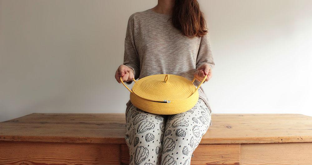 cazuela amarillo
