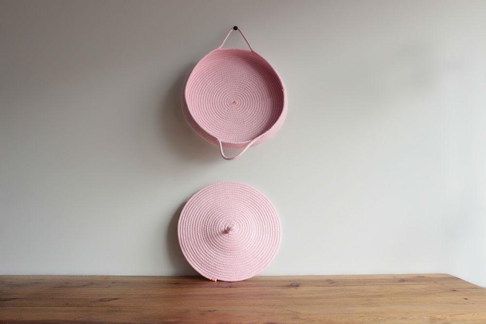 cazuela rosa