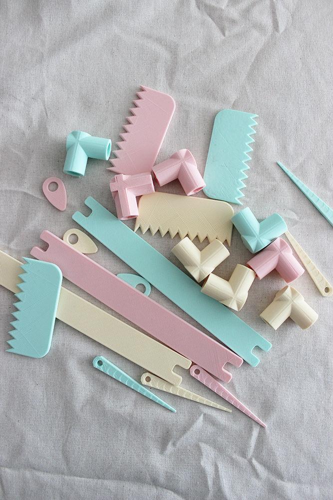 piezas colores
